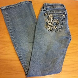 Miss Me Signature Boot Cut Jeans Size 27